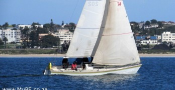 Jellybaby - 1st in ABYC Week 2014 Fleet 1