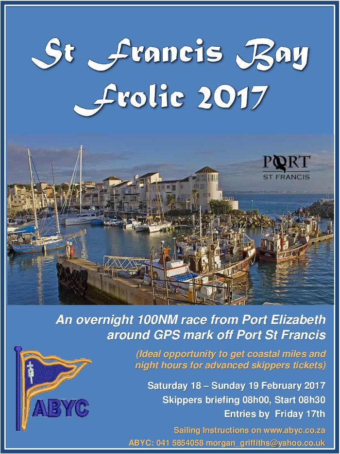 St Francis Bay Frolic 2017