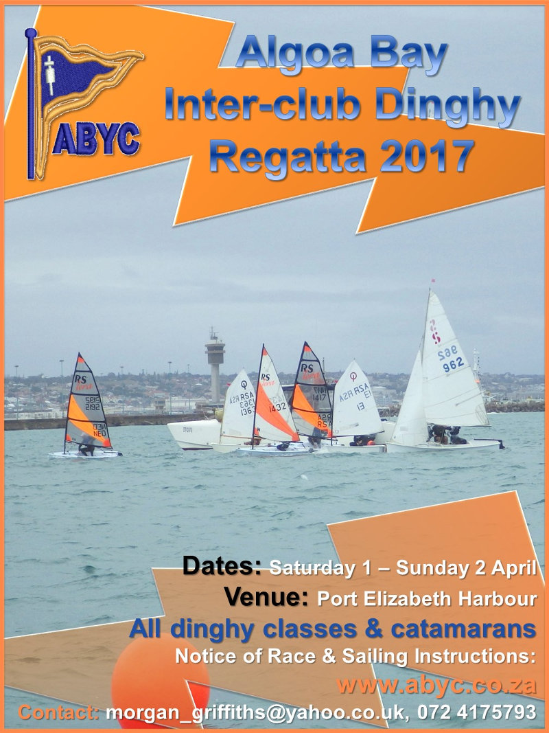 ABYC Inter-Club Dinghy Regatta 2017